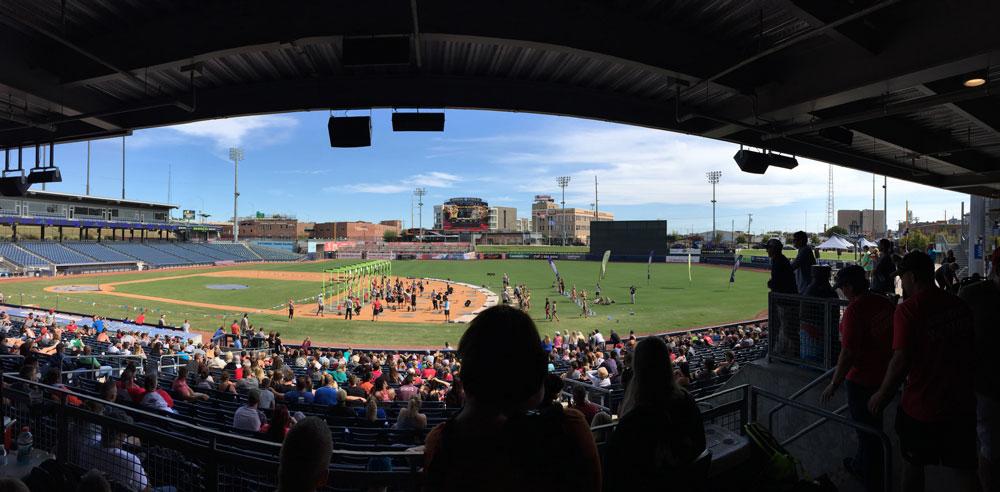 battle at the ballpark tulsa