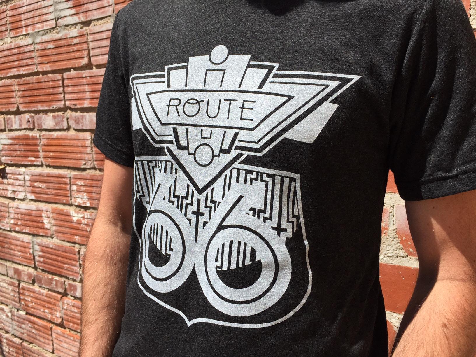 Deco Route 66 Shirt