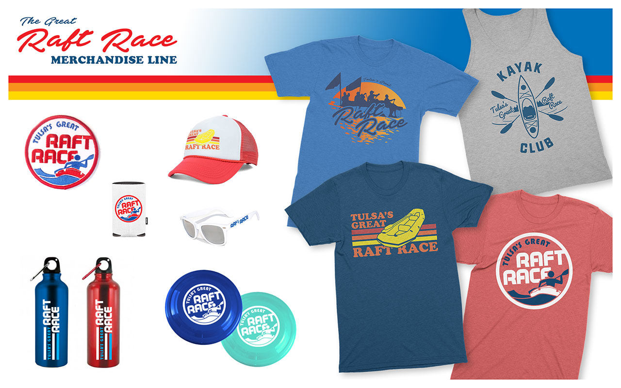 Tulsa Raft Race Merchandise
