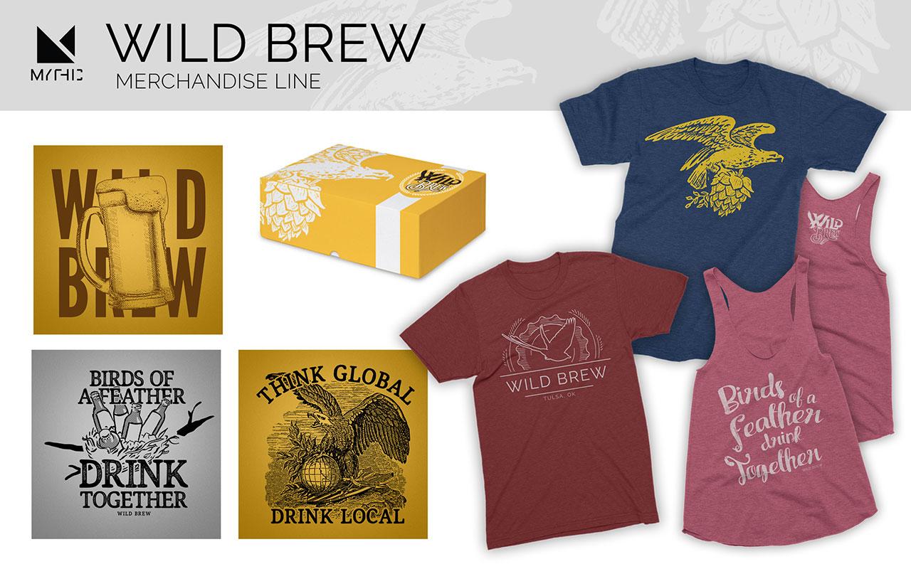 Wild Brew Event Merchandise