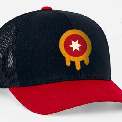 Tulsa Flag Hat red bill