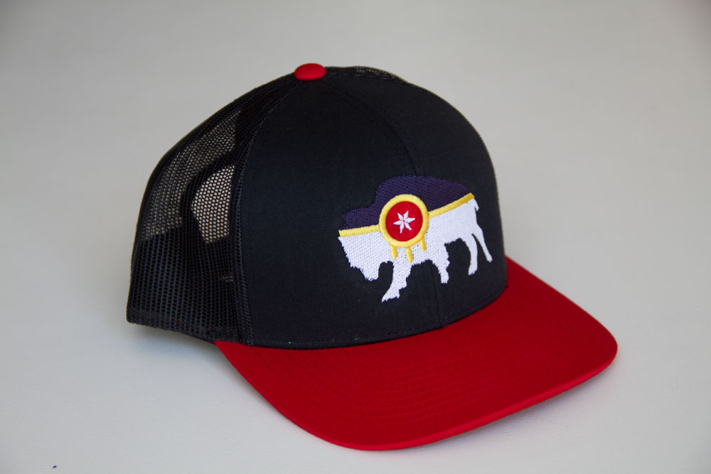 Embroidered tulsa flag hat mythic