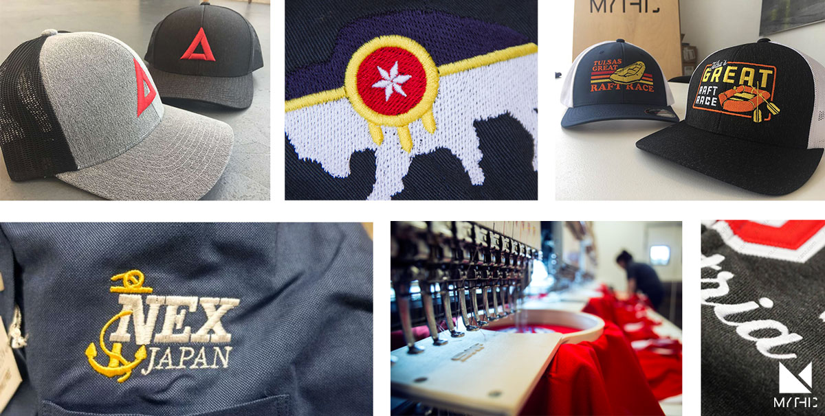 Tulsa Embroidery Custom Hats Corporate Shirts Branded Apparel