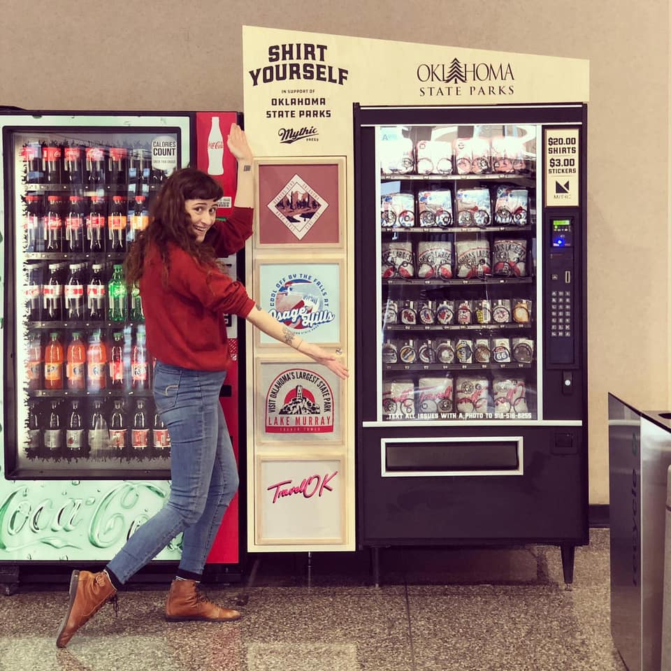 t shirt vending machine